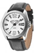 Police 14103JS/04 Ranger Gents Analogue Watch Date Black Leather Strap
